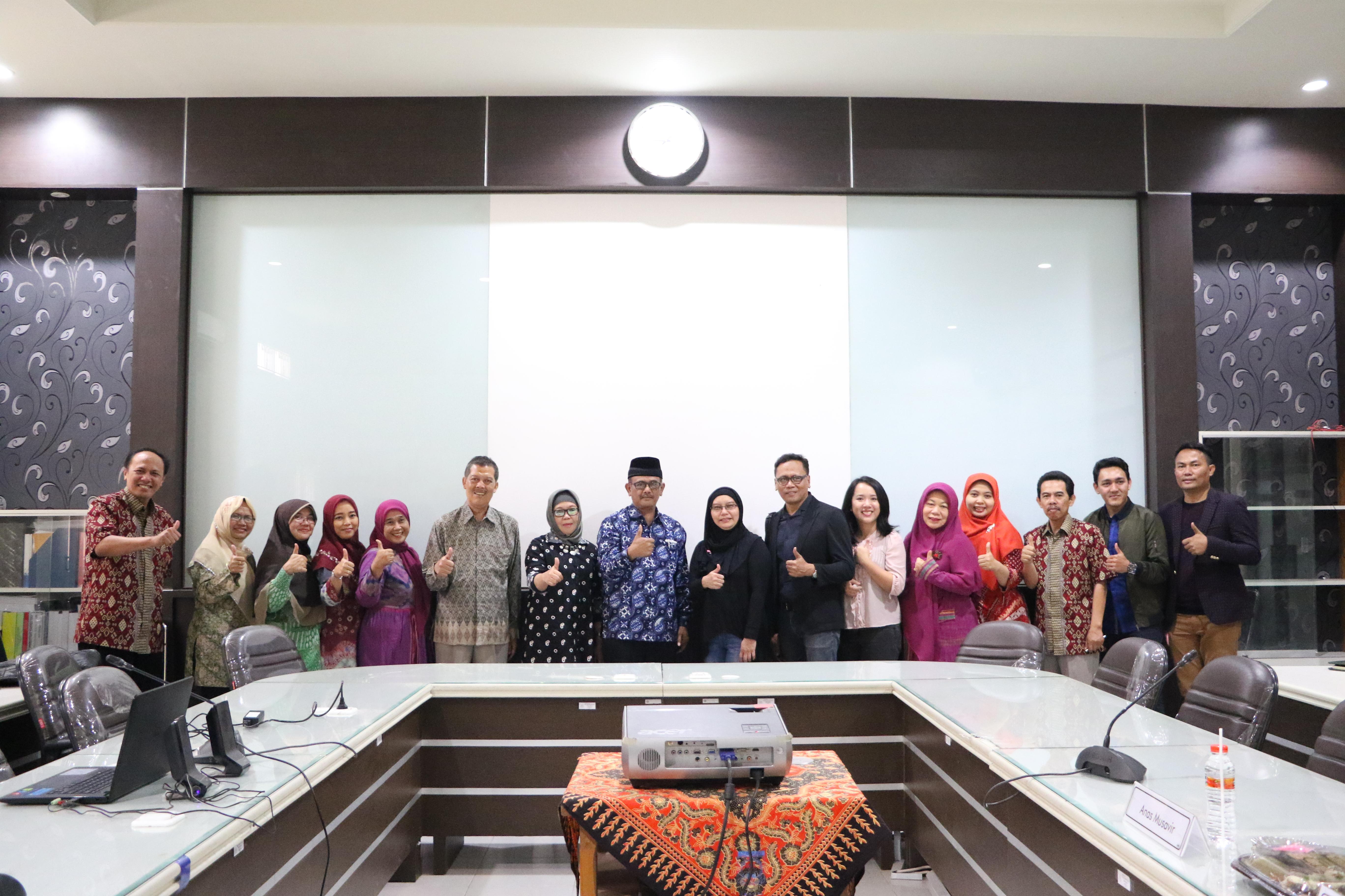 Kunjungan Tamu Fashion Design of Faculty of Art and Design Universiti Teknologi MARA (UiTM) Shah Alam Malaysia