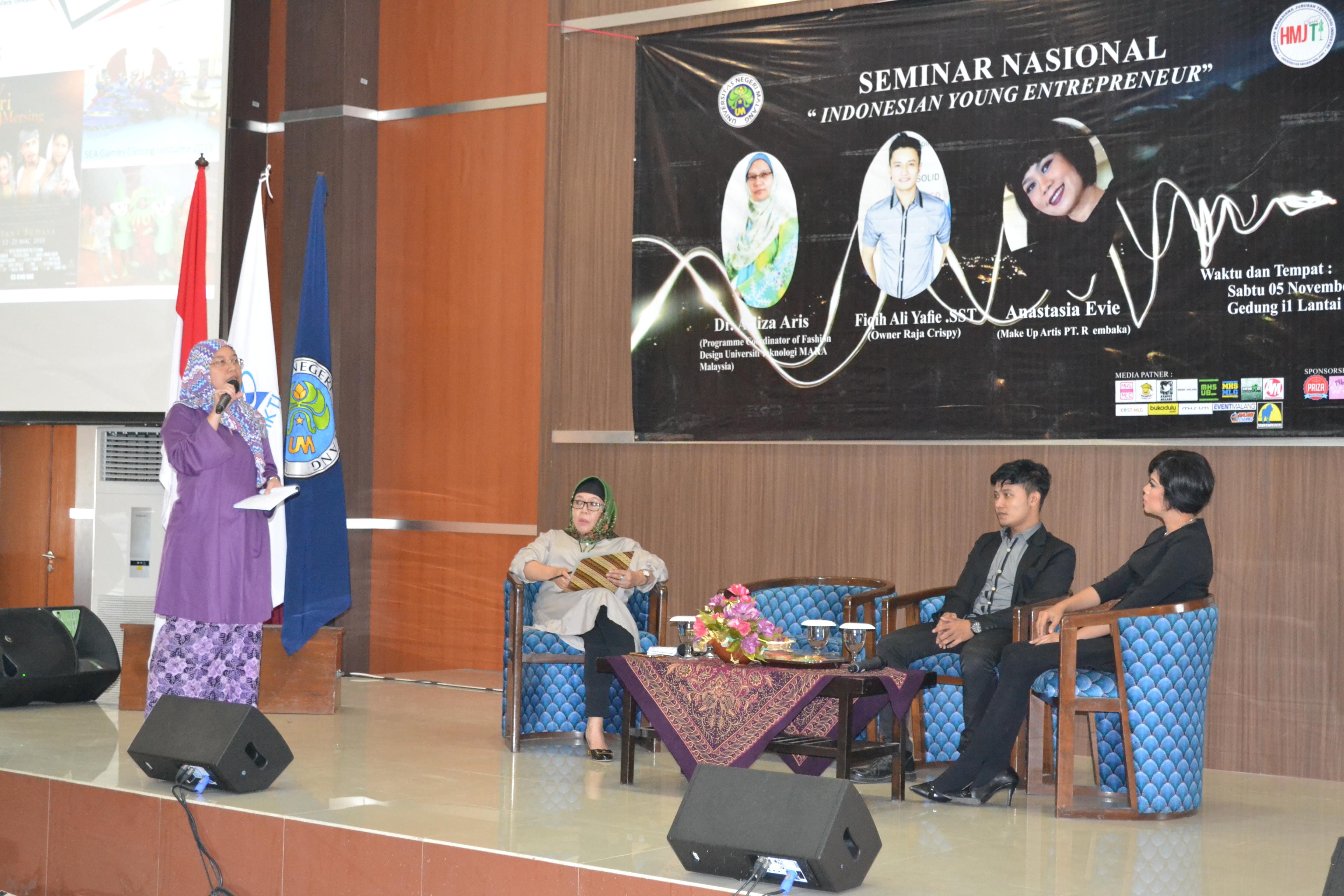 "SEMINAR NASIONAL ""INDONESIA YOUNG ENTREPENEUR"""