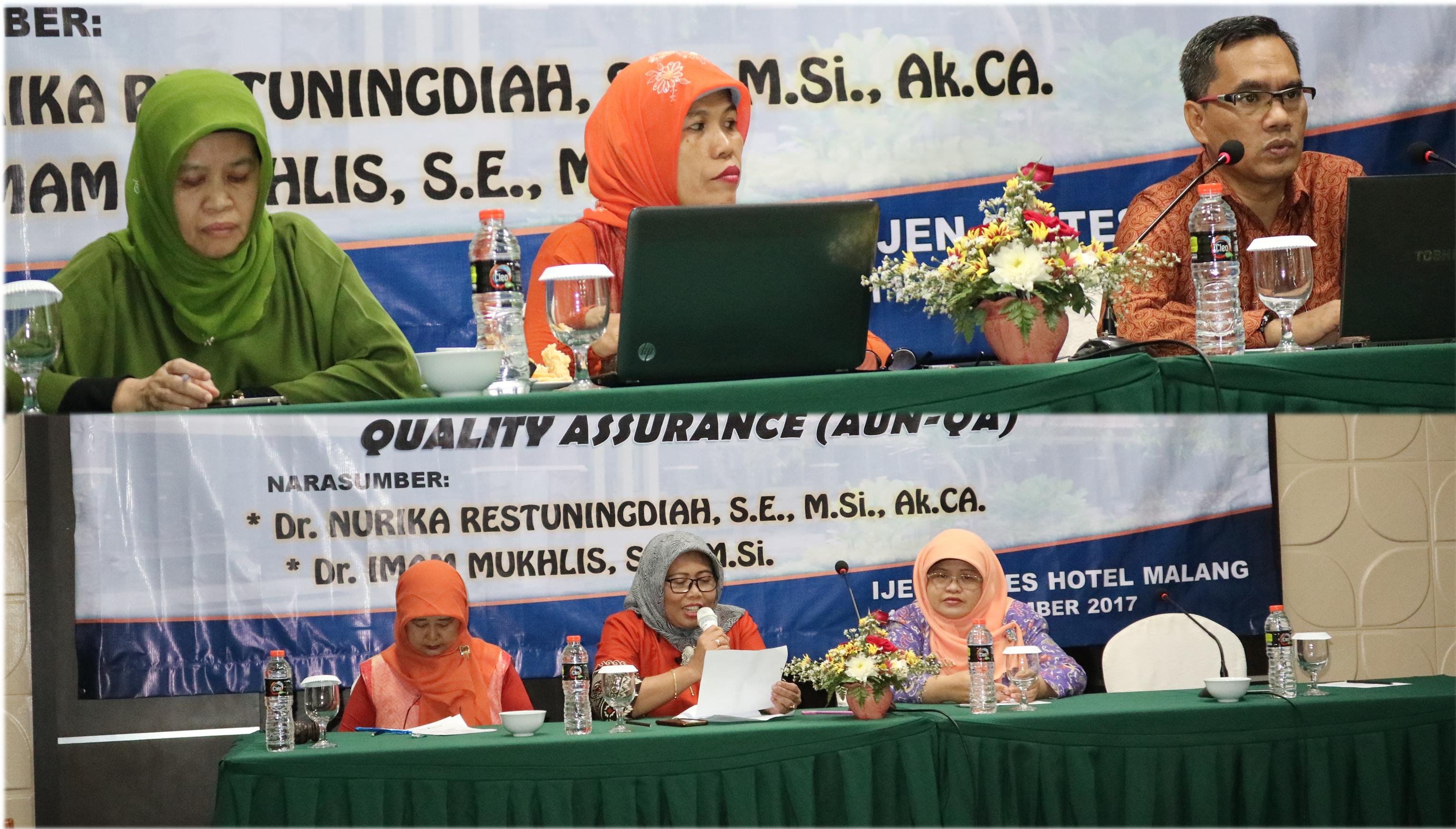 Workshop Sistem Akreditasi Perguruan Tinggi Online (SAPTO) Menuju Akreditasi  ASEAN University Network Quality Assurance